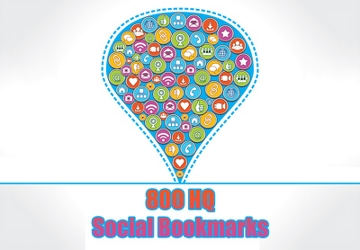 Add your site to 800+ SEO bookmarks high quality backlinks