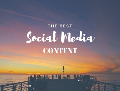 Write and design ten high quality social media posts (one platform of your choice)