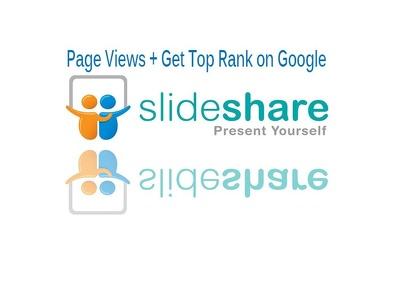 Add 10 000 plus SlideShare Views increase SEO rank