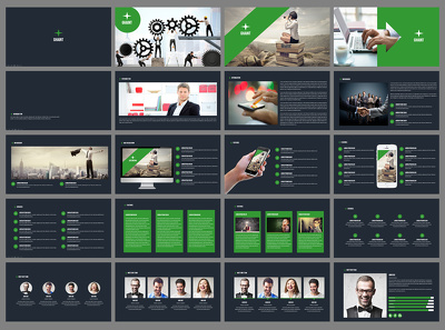 Deliver Ghaint Powerpoint Template