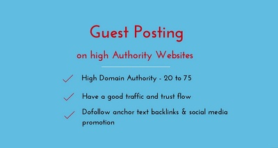 Do Guest Posting on 73 DA Websites
