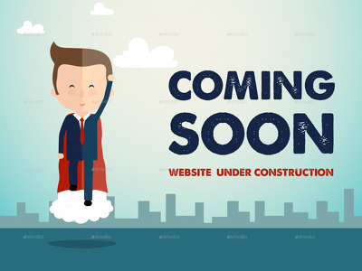 Create a eye catching Coming Soon or Under Construction Page