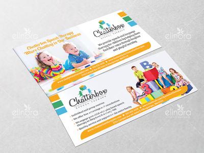 Design professional rack card, postcard or voucher