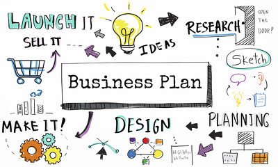 Develop a professional and comprehensive BUSINESS PLAN to help launch your business