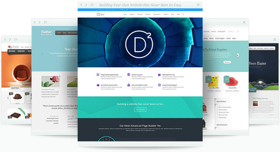 develop your wordpress website with any wordpress template