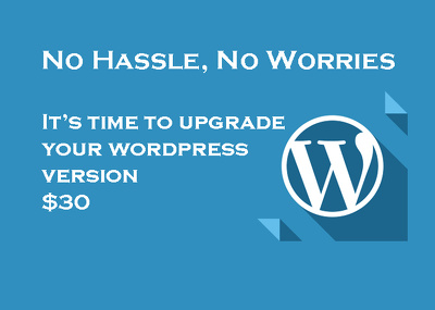 Upgrade your wordpress website to latest version of wordpress