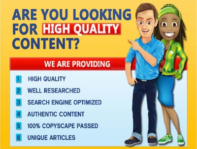 Research and write 5 X 500 word SEO optimized articles for you