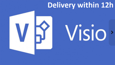 Recreate your diagram in Visio