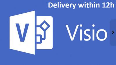 Recreate your diagram in Visio