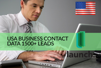 Scrape 1500 list USA business contact data in any industry