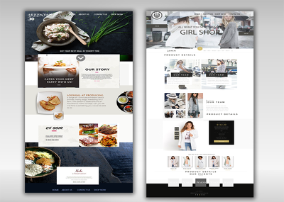 Design Custom 1-15 pages PSD and develop WordPress Site with unlimited Reviews