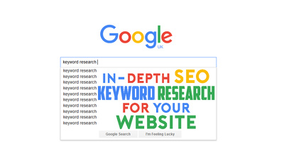 Do in-depth SEO Keyword Research for your website