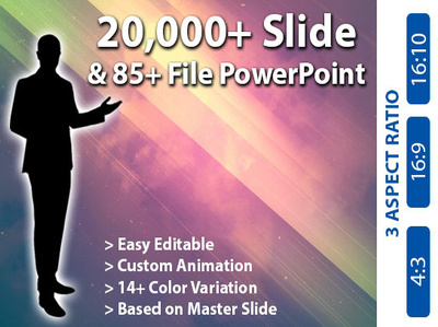 Send you a PowerPoint Presentation with 20250 slides