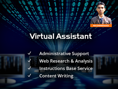 Be your Virtual assistant or Personal assistant for 1 hour