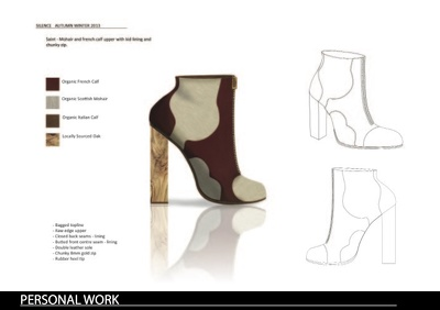 Cad your footwear design (two views)