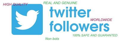 Provide 3000 HQ Twitter Followers  OR 3000+ High Retention Youtube Views