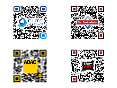 Create a customised QR Code for your website Facebook Twitter Pinterest Linkedin page