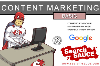 Provide a Basic Content Marketing Package perfect for very small companies