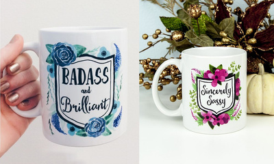 Design a creative MUG illustration or pattern
