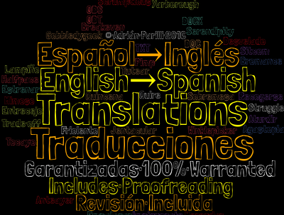 English ↔ Spanish Translations · 500 Words · Includes Proofreading