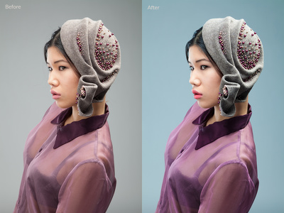Retouch, recolour and cleanup up to 3 product & portrait images