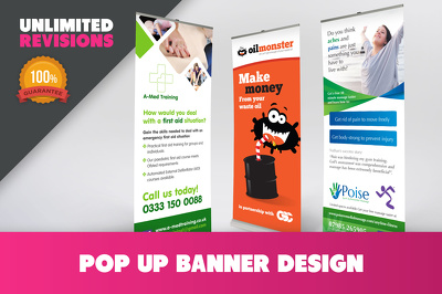 Design a fantastic pop up banner