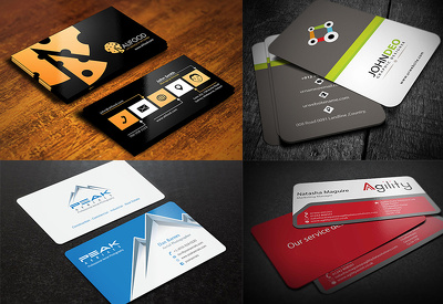 Design professional Business Card and Letterhead