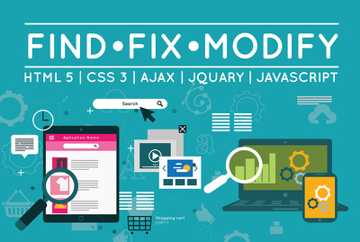 Fix any php, mysql, jquery, html, css, ajax issues