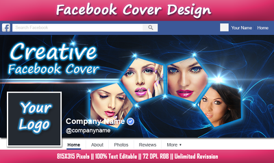Design Your Facebook Cover Page with Professional Looking