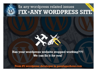 Wordpress fix /bugs or html fix
