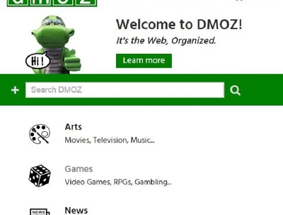 Submit your site to the DMOZ website submission directory