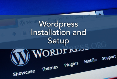 Install and setup WordPress
