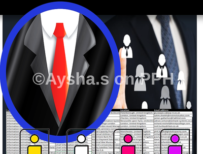 Provide database of decision maker (e.g. Owner, CEO, CFO, Pres, VP, Director)