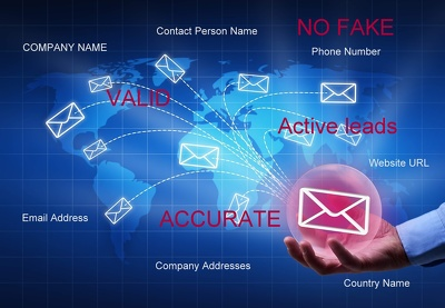 Collect you a list of 200 genuine and active email leads with info