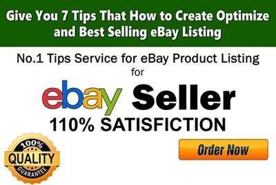 Give You 7 Tips That How To Create Optimise eBay Listing