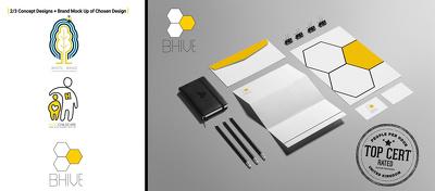 Design 3 Original Logo Concepts Plus A Brand Stationery Mock Up
