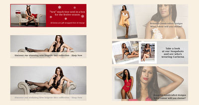 Design fashion banner , Instagram banner for your website