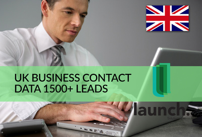 Scrape UK Business Contact Data in Any Industry 1500