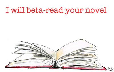 Beta-read your novel and offer feedback