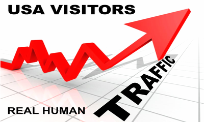 USA Keyword targeted Google traffic with low bounce rate and high duration