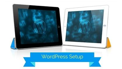 wordPress Setup Including Premium Theme