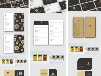 Design a full stationery pack