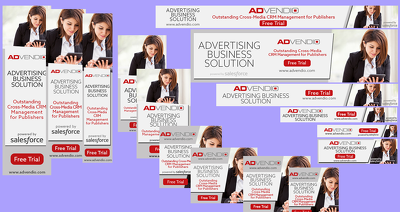 Design (5 sizes) AdWord Banners ad set With Unlimited Revisions
