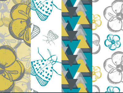 Create a bespoke repeating pattern for use on homewares or fashion