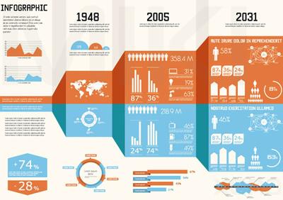 Design an Edgy Infographics Design