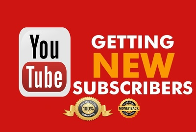 Add 300 genuine YouTube subscribers to your channel And Free 1k Video Views