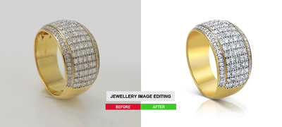 Creatively edit 10 jewelry photo