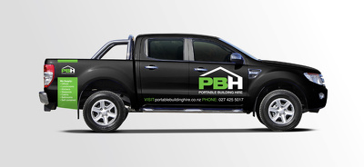 Design your company's vehicle e:g car, van, bus signage