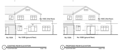 Do 1 no. drawing for planning application (UK)