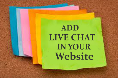 Add live chat to your website